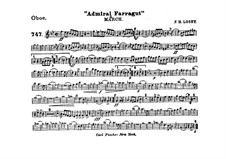 Admiral Farragut: Oboe part by Frank Hoyt Losey