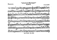 Admiral Farragut: Bassoon part by Frank Hoyt Losey