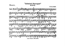 Admiral Farragut: Basset horn part by Frank Hoyt Losey