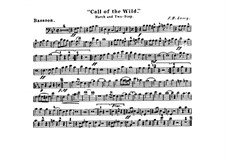 Call of the Wild: Bassoon part by Frank Hoyt Losey