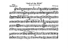 Call of the Wild: Alto saxophone part by Frank Hoyt Losey
