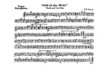 Call of the Wild: Tenor saxophone part by Frank Hoyt Losey