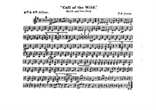 Call of the Wild: Alto horns III, IV parts by Frank Hoyt Losey