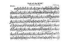 Call of the Wild: Drum part by Frank Hoyt Losey
