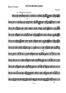 Intermezzo: For solo and symphonic orchestra by Eugen Doga