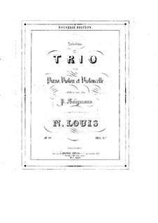 Piano Trio No.3 in D Major, Op.99: Parts by N Louis
