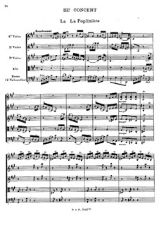 Harpsichord Concerto No.3 in C Minor, RCT 9: Arrangement for string sextet by Jean-Philippe Rameau