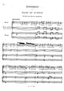 Diane et Actéon: Diane et Actéon by Jean-Philippe Rameau