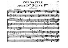 Zoroastre, RCT 62: Act IV by Jean-Philippe Rameau