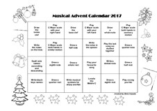 Musical Advent Calendar 2017: Musical Advent Calendar 2017 by The Pianist