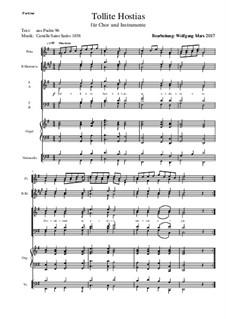 Oratorio de Noël (Christmas Oratorio), Op.12: Tollite Hostias by Camille Saint-Saëns