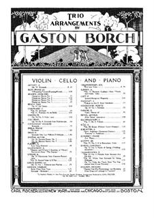 No.7 Skočná: For piano trio by Antonín Dvořák