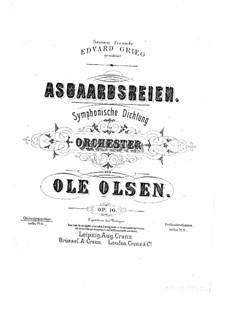 Asgaardsreien, Op.10: Asgaardsreien by Ole Olsen