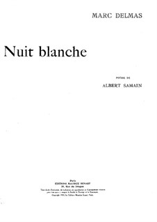 Nuit blanche: Nuit blanche by Marc Delmas