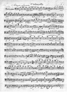 Trio for Flute, Violin and Сello No.2, Op.39: Cello part by Raphael Dressler