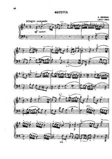 Fughetta in E Minor: Fughetta in E Minor by Alexander Ivanovich Dubuque