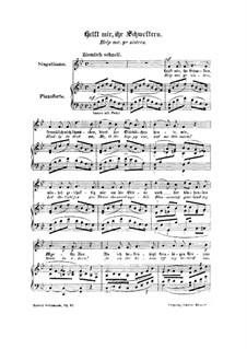 Woman's Love and Life, Op.42: No.5 Help Me, Ye Sisters by Robert Schumann