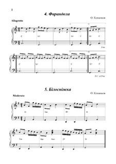 2 пьесы для начинающих (для бандуры): 2 пьесы для начинающих (для бандуры) by Oleg Kopenkov