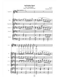 Auf kalter Spur, Op.55: Auf kalter Spur by Jürgen Pfaffenberger
