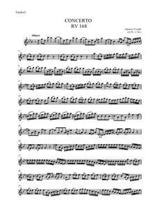Concerto – score and parts: Concerto – score and parts by Antonio Vivaldi