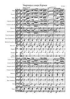 Complete Opera: Overture by Georges Bizet