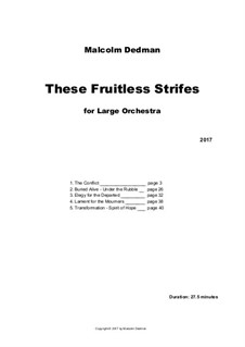 These Fruitless Strifes, MMO14: These Fruitless Strifes by Malcolm Dedman
