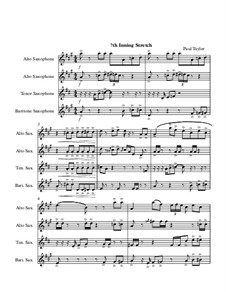 7th Inning Stretch, Op.3 No.1: 7th Inning Stretch by Harry von Tilzer