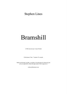 Bramshill Concert Rondo: Bramshill Concert Rondo by Stephen Lines