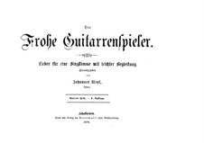 Der Frohe Guitarrenspieler: Heft IV by Johannes Wepf