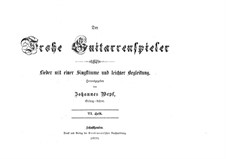 Der Frohe Guitarrenspieler: Heft VI by Johannes Wepf