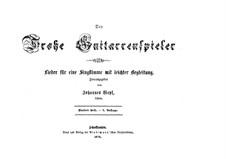 Der Frohe Guitarrenspieler: Heft V by Johannes Wepf