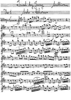 Trial by Jury: Oboe part by Arthur Seymour Sullivan