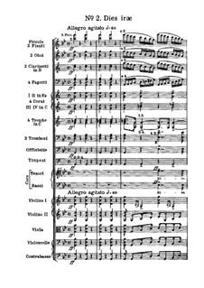 Messa da Requiem: No.2 Dies iræ by Giuseppe Verdi