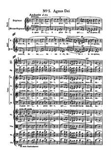Messa da Requiem: No.5 Agnus Dei by Giuseppe Verdi