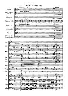 Messa da Requiem: No.7 Libera me by Giuseppe Verdi