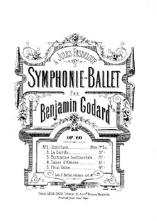Symphony-Ballet, Op.60: No.2 La Cerrito. Arrangement for piano by Benjamin Godard