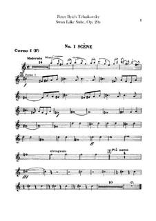 Version B: Horns I, II parts by Pyotr Tchaikovsky
