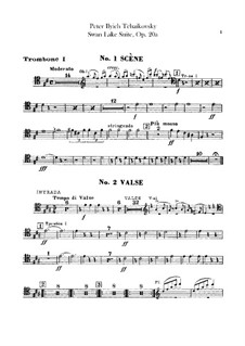 Version B: Trombones and tuba parts by Pyotr Tchaikovsky