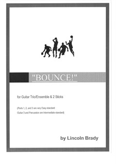 Bounce!: For quintet by Lincoln Brady