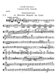 Complete Movements: Viola part by Camille Saint-Saëns