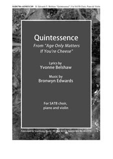 Quintessence: Quintessence by Bronwyn Edwards