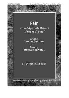 Rain: Rain by Bronwyn Edwards