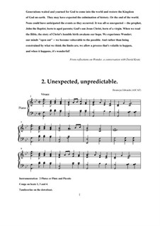 Unexpected, Unpredictable: Unexpected, Unpredictable by Bronwyn Edwards