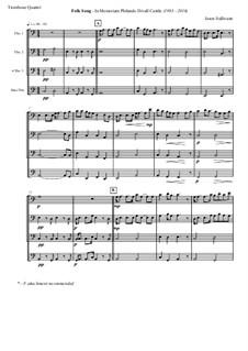 Folk Song: In Memoriam Philando D. Castile (1983-2016): For wind quartet by Jason Sullivann