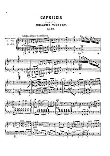 Capriccio, Op.29: Capriccio by Wilhelm Taubert