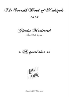 Book 7 (Concerto), SV 117–145: No.04 A quest'olmo, a quest'onbre a6 by Claudio Monteverdi