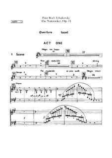 Complete Ballet: Harp I part by Pyotr Tchaikovsky