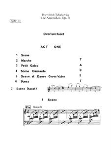 Complete Ballet: Harp II part by Pyotr Tchaikovsky