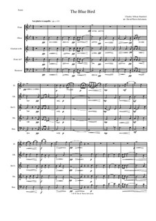 The Blue Bird: For wind quintet by Charles Villiers Stanford