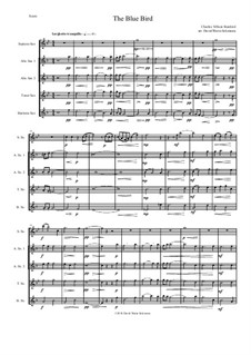 The Blue Bird: For saxophone quintet by Charles Villiers Stanford